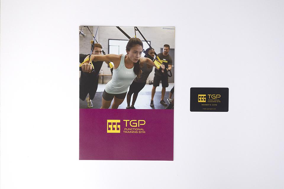 TGP様パンフレットとメンバーズカード